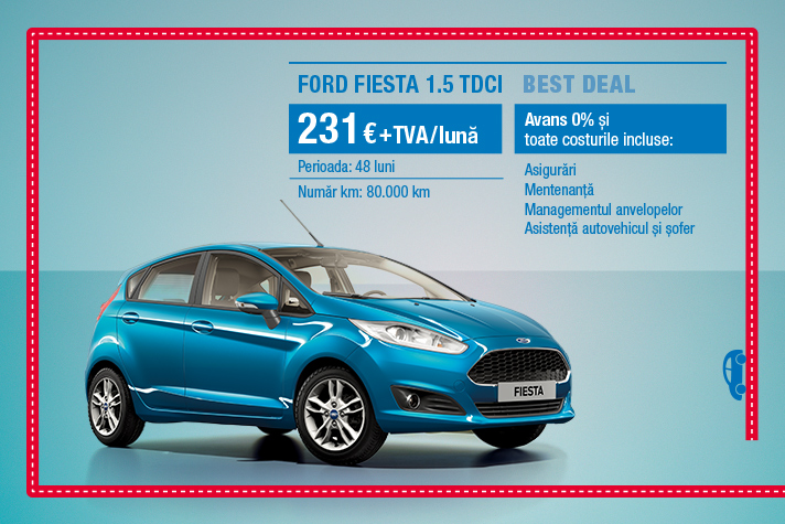 BEST DEAL FORD FIESTA