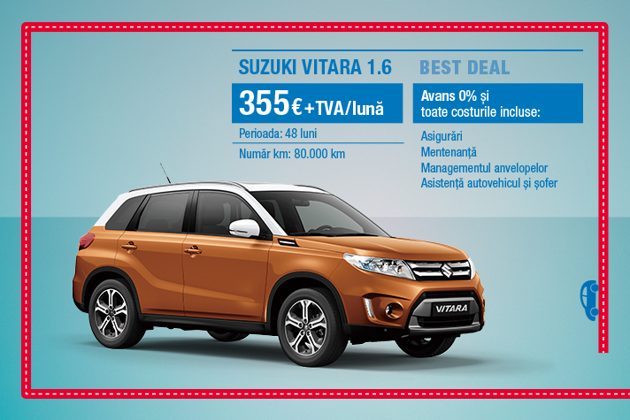 BEST DEAL SUZUKI VITARA