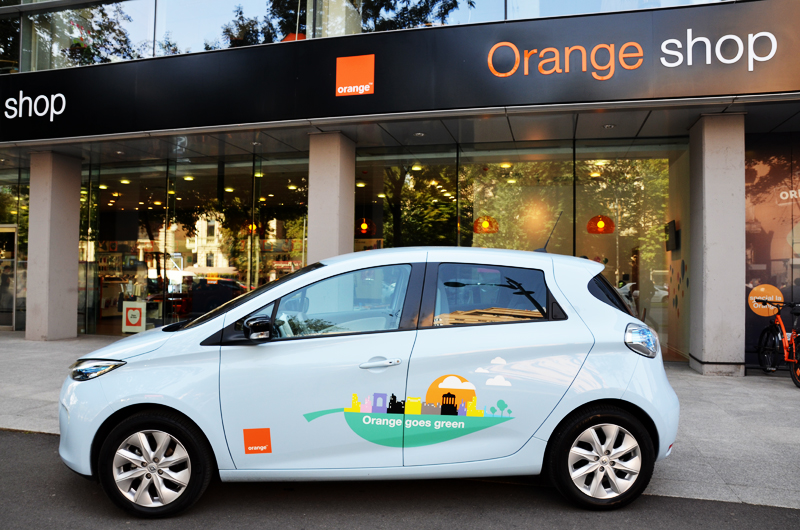 ALD Automotive livreaza prima flota de masini electrice in leasing operational catre Orange Romania