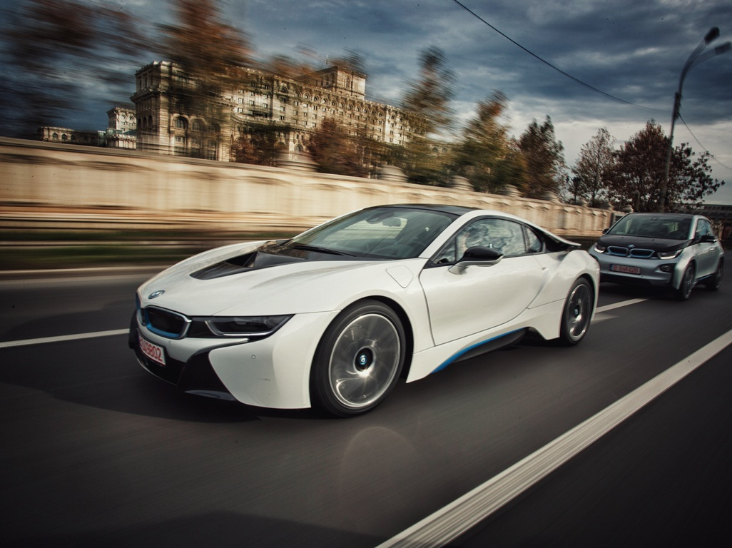ALD Automotive and BMW officialy deliver the first BMW i8 in Romania